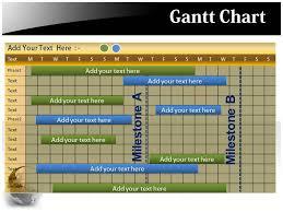 sample chart templates free powerpoint gantt chart template