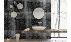 Tile Bathroom Walls by Mosaic Wall Mosaic Natural Stone Mosaic Tile Stone Wall Mosaic