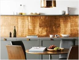 ideas for kitchen splashbacks kitchen tiled splashback ideas buy copper leaf glass tile