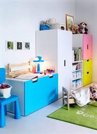 meubles chambre enfants chambre enfant lit mezzanine 2 meuble rangement enfant ikea stuva