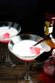 vanilla rose and white chocolate cocktail falooda cocktail the