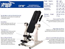 inversion table for bulging disc teeter hang ups dfm inversion table