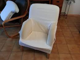 comment faire une housse de canapé housse de fauteuil écrue en bachette de coton nine couture