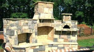 outdoor fireplace for wood deck build your own outdoor fireplace plans how to an on a