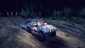 racing jeep grand cherokee grand cherokee wj red bull for spin tires