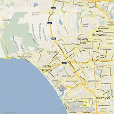 Los Angeles Area Map by What Are The Kinds And Styles Of Personalized Maps Locr En