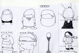 illustrations drawings paintings sketches the stuff in