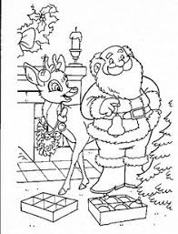 santa claus coloring pages toddlers preschoolers kids merry