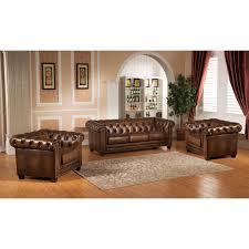 2 Armchairs Amax Leather Stanleyparkscc Stanley Park Ii 100 Leather 3 Piece