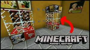 minecraft pocket edition how to build a arcade claw machine youtube