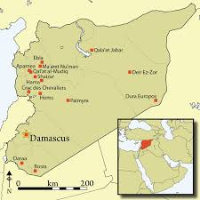 syria on map antiquity journal