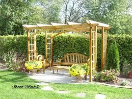 Small Backyard Pictures by Backyard Pergola Ideas U2013 Workhappy Us