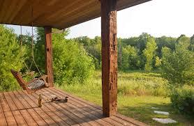 cabin porch tamarack cabin door county log cabin chanticleer guest house