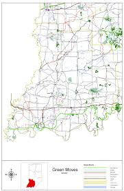 Indianapolis In Map Indot Bicycle U0026 Pedestrian Program