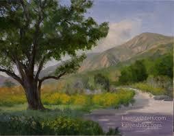 oak tree paintings oak paintings pastels and watercolor