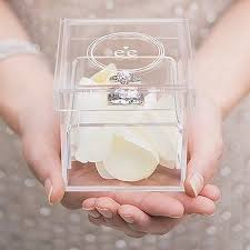 ring holder for wedding classic wedding ring holder box hitchedcouk creative with wedding