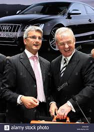 audi ceo audi ceo rupert stadler l and the ceo of volkswagen martin stock