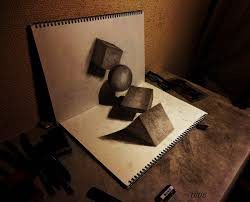 drawn 3d art looks 3d pencil and in color drawn 3d art looks 3d
