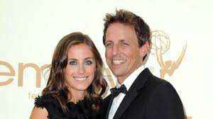 mary drysdale seth meyers expecting second child with wife alexi ashe find ou