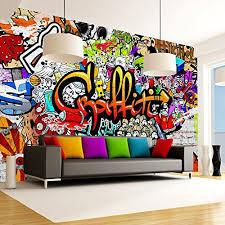 graffiti chambre papier peint graffiti sur amazon pour chambre d ados chambre amr