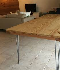 Concrete Dining Room Table Dining Table How To Build A Dining Room Table Reclaimed Wood