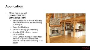 sprinkler systems and wood trusses ppt video online download