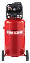 craftsman 33 gallon vertical portable air compressor
