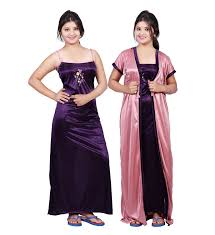 nite dress bailey women s satin combo of dress bailey0153 purple free