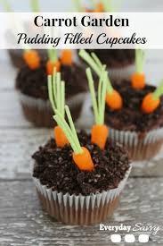 Easter Garden Decorations by Easy Easter Cupcakes Cute Carrot Garden Cupcakes