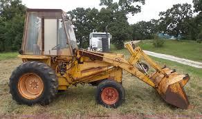 case 580b construction king landscape tractor item k1612