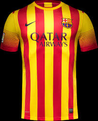 New Jersey State Flag Colors Fc Barcelona 13 14 Home Away Kits Released Third Kit Info