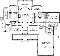modern home design 4000 square feet fashionable design 4000 sq ft home plans 4 country style house on