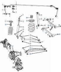 jeep jk wrangler suspension suspension diagram 4wd com