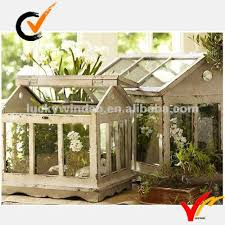 Country Garden Decor Wood Glass French Country Garden Decor Mini Wooden Greenhouse