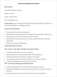 Account Manager Resume Sample by Manufacturing Resume Template U2013 26 Free Samples Examples Format