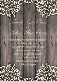 rustic wedding invites vintage floral wooden rustic wedding invites iwi248 wedding