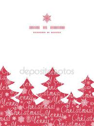 merry christmas belettering boom silhouet u2014 stockvector