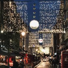 london christmas lights walking tour on my way home tonight enjoying london christmas decor