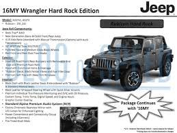 jeep rubicon black 2016 jeep wrangler gets special black bear edition motrolix