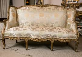 Antique French Settee Louis Xv Style Carved French Sofa By Jansen At 1stdibs