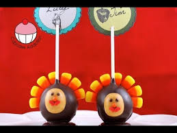 decorate thanksgiving turkey cake pop place cards a cupcake