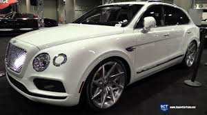 suv bentley white bentley bentayga by forgiato exterior walkaround 2016 la auto