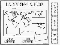 globe and maps worksheet 10 best images of globe worksheet kindergarten maps and globes