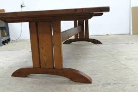 Mission Style Dining Room Tables - dining table mission style dining room table bench custom made