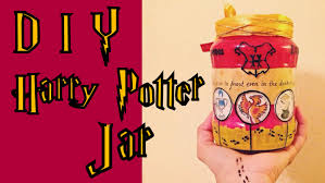 diy harry potter gryffindor jar gift idea