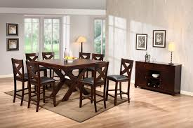 holland house 1950 dining extension counter height table godby