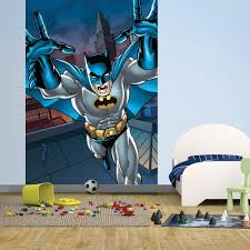 wall easy hang wallpaper mural batman portrait comic 1 58m x 2 32m 1 wall easy hang wallpaper mural batman portrait comic 1 58m x 2 32m