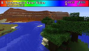 Fixing Color Blindness Alvoria U0027s Color Blind Simulating Vanilla Shaders Minecraft Texture