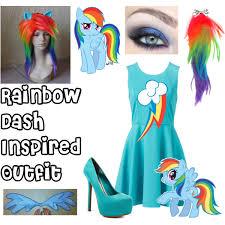 Rainbow Dash Halloween Costume Rainbow Dash Inspired Polyvore