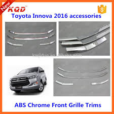 toyota product line toyota innova car chrome front grille for 2015 innova front grille